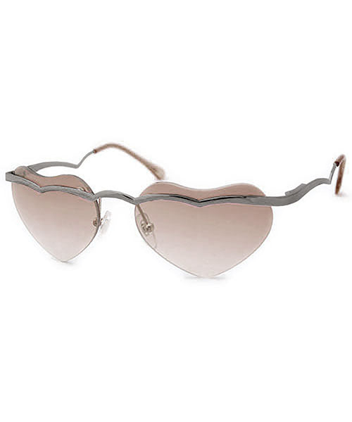 ADORE Smoke Rimless Sunglasses