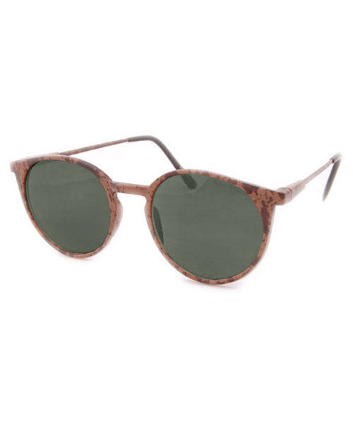 AINSLEE Brown Mens Sunglasses