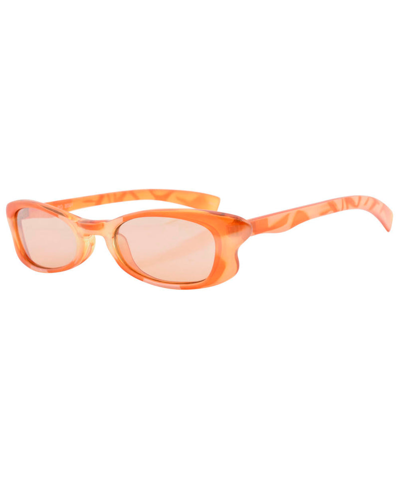 ALLSORTS Orange 2000s Sunglasses