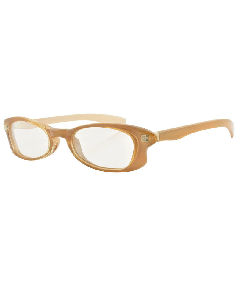 ALLSORTS Tan Square Sunglasses