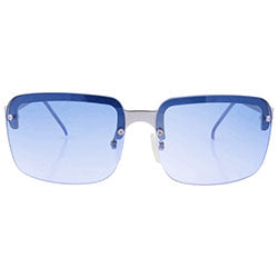 ALOHA Blue Rimless Sunglasses
