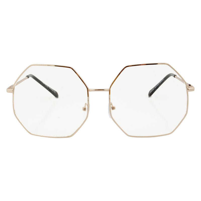ALTO Gold/Clear Glasses