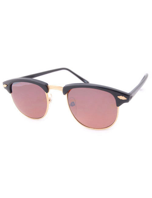 andy gloss black sunglasses