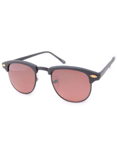 andy matte black sunglasses