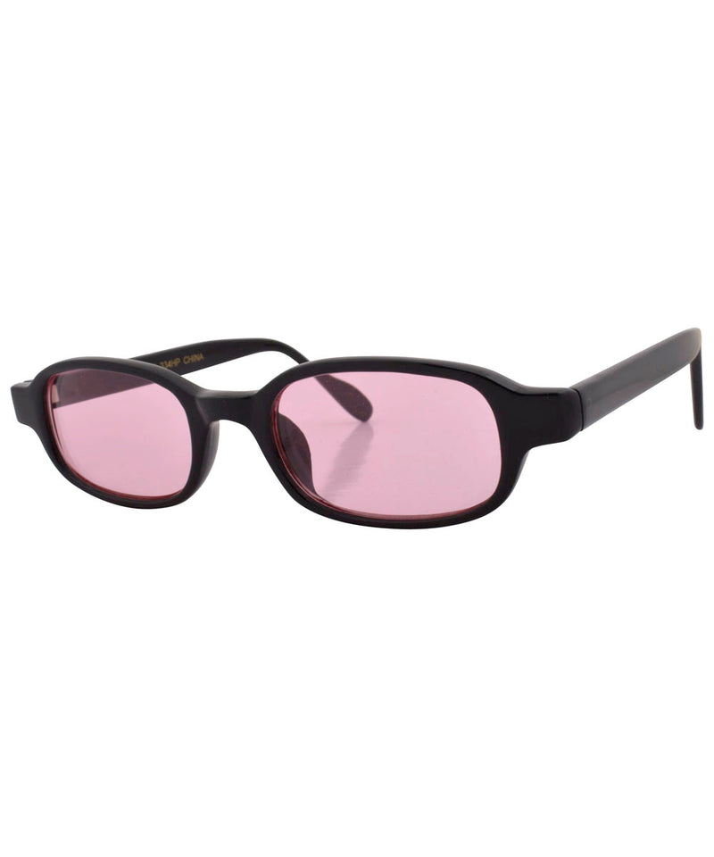 antelope black pink sunglasses