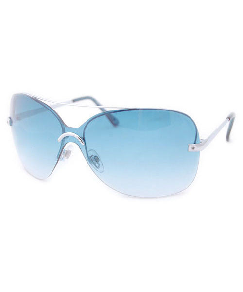arco iris teal sunglasses
