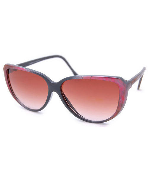 aster black red sunglasses