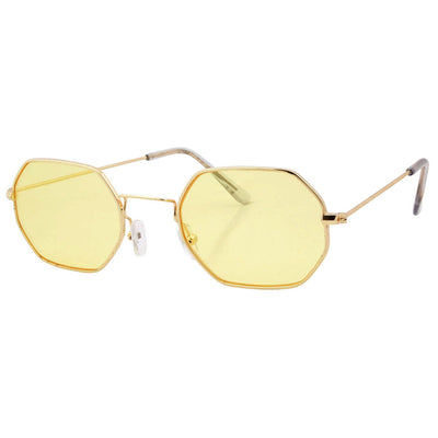 august yellow gold sunglasses