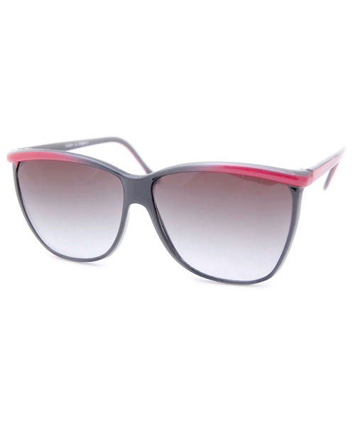 aurora black red sunglasses