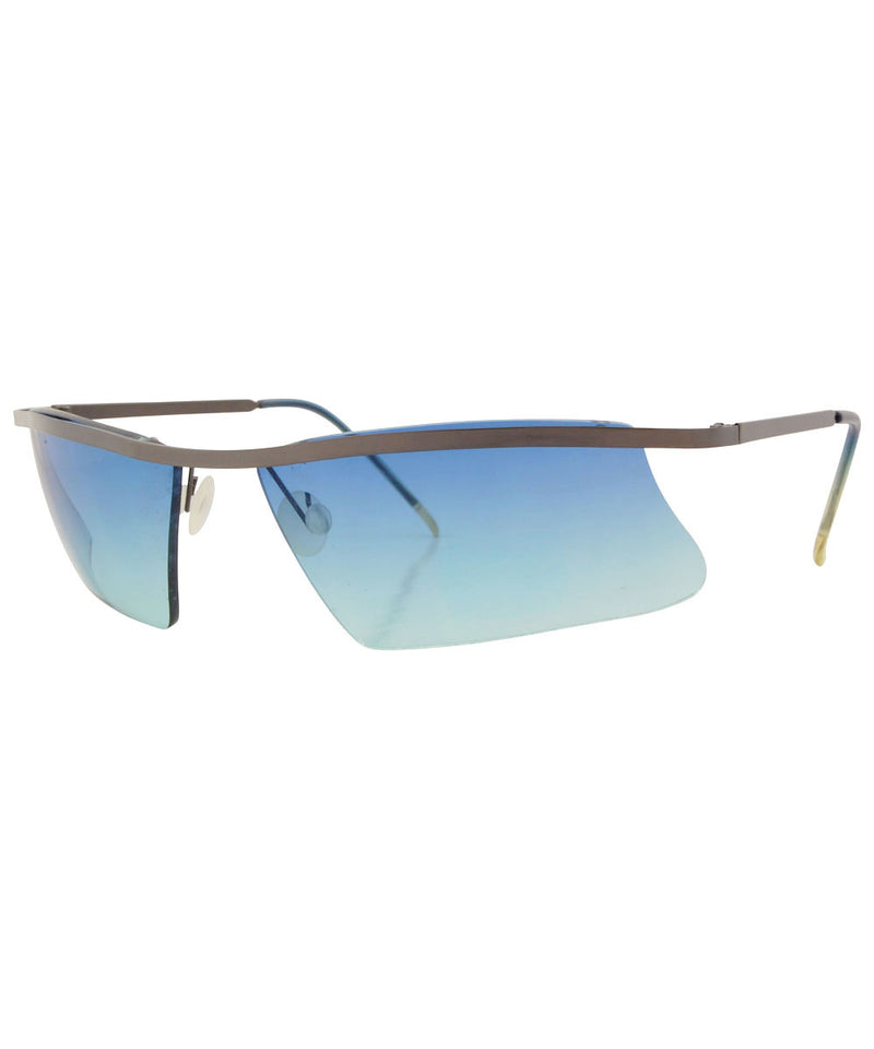 awesome aqua gunmetal sunglasses