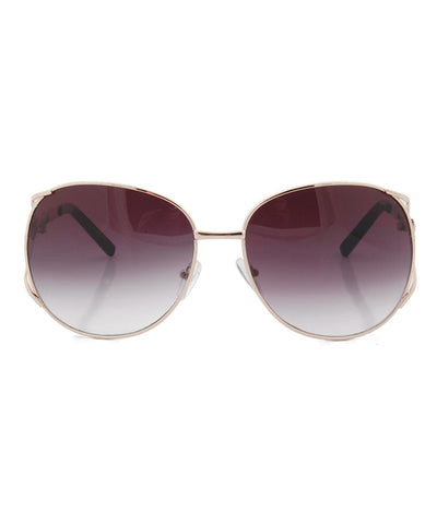 bambu gold black sunglasses