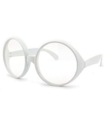 bananas white clear sunglasses