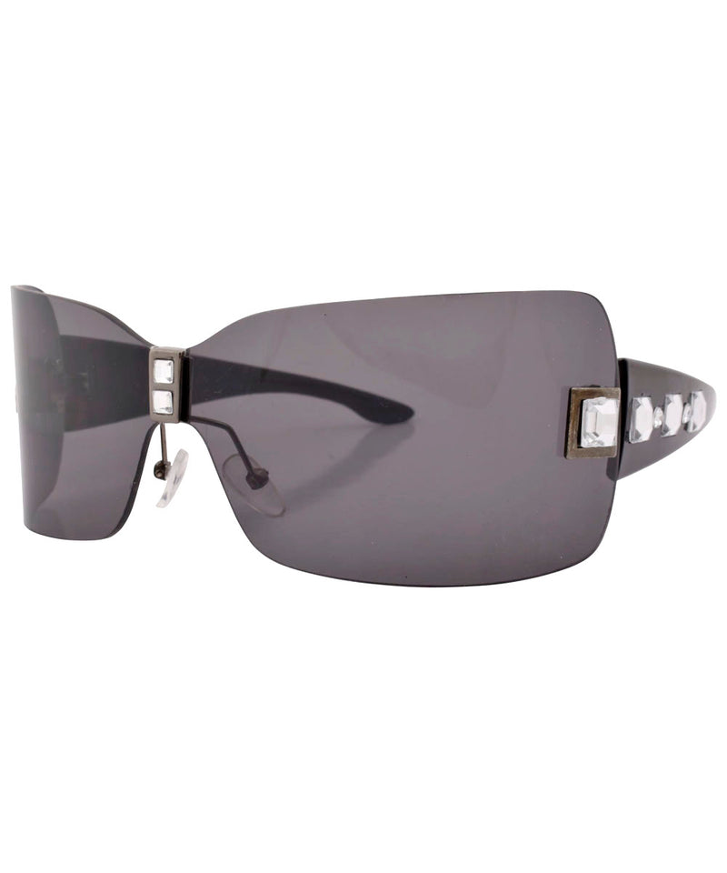 bandolito smoke black sunglasses