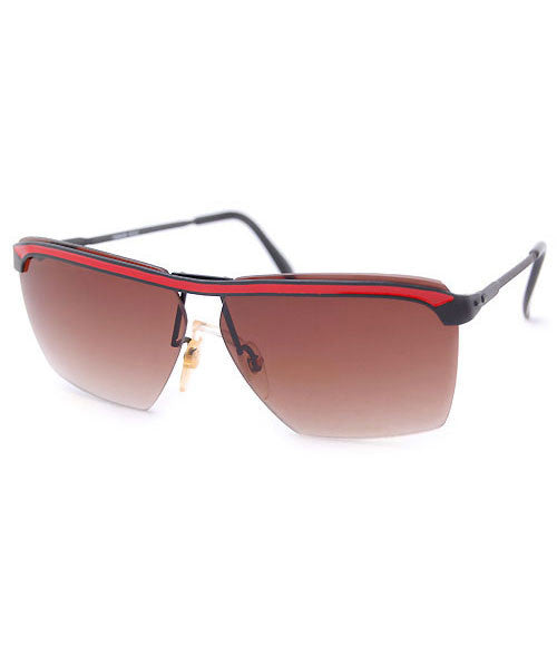 basil red sunglasses