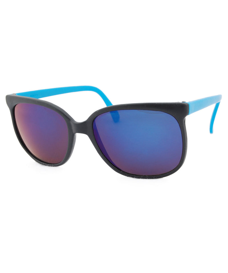 bay black blue sunglasses