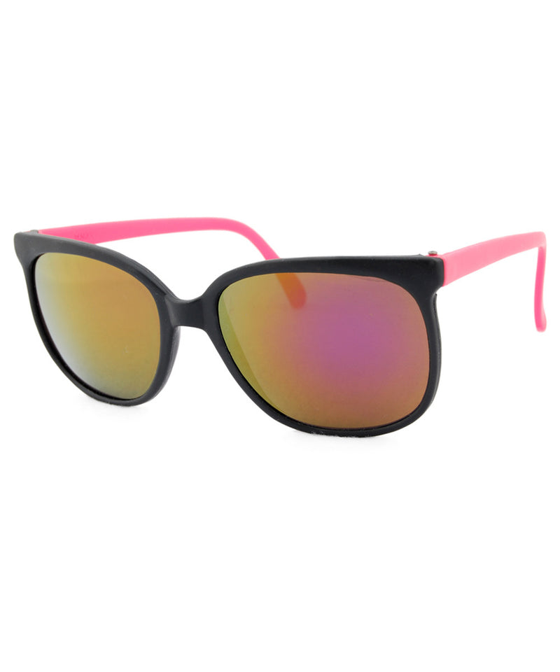 bay black pink sunglasses