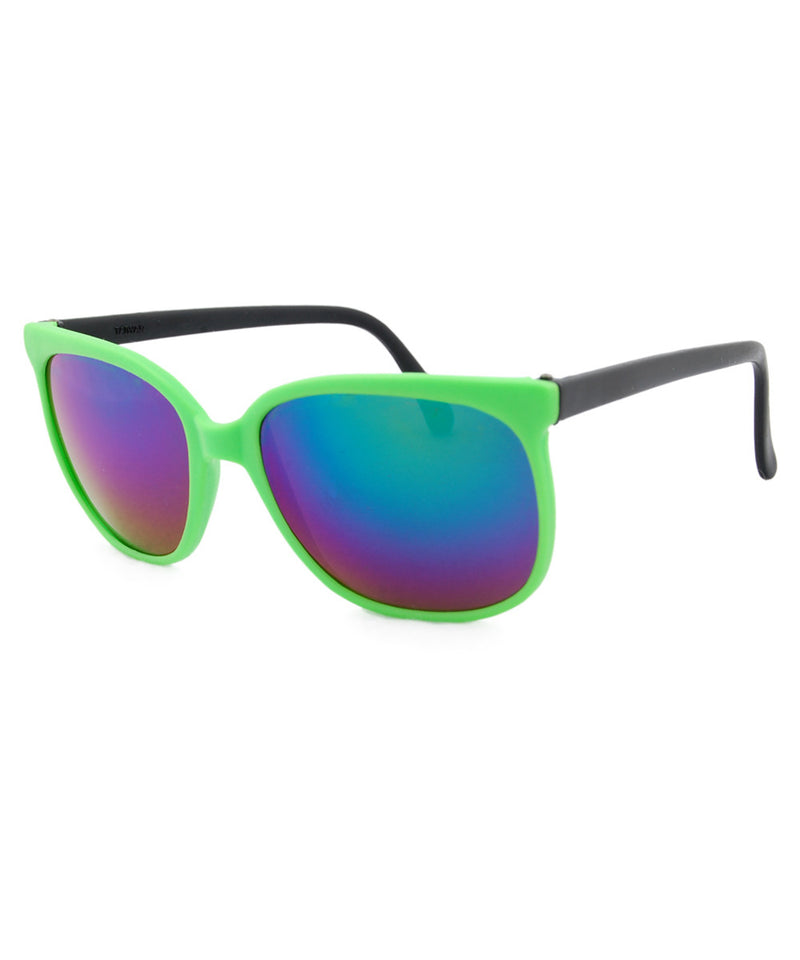 bay green black sunglasses