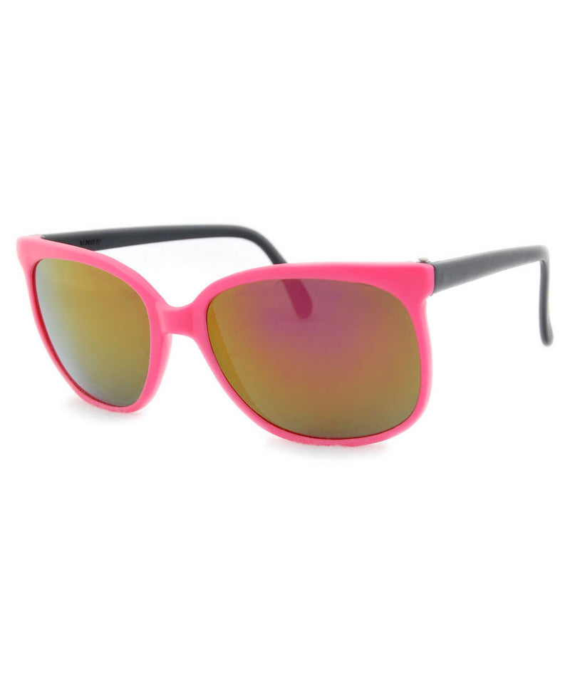 bay pink black sunglasses