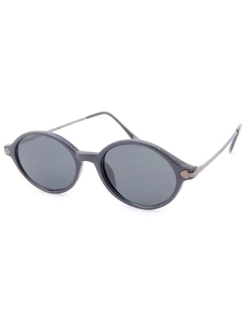 bean black gunmetal sunglasses