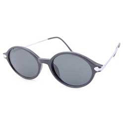 bean black silver sunglasses