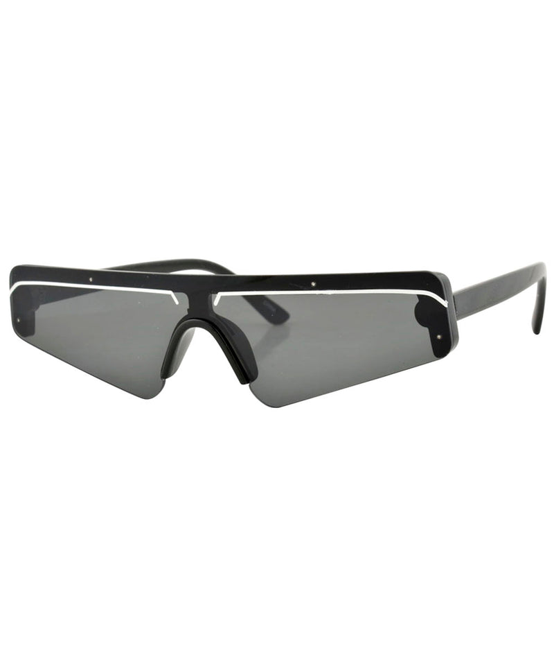 BEBOP Black 80's Sunglasses