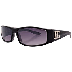 beeg black sunglasses