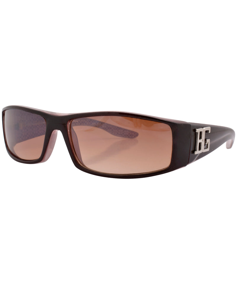 beeg brown sunglasses
