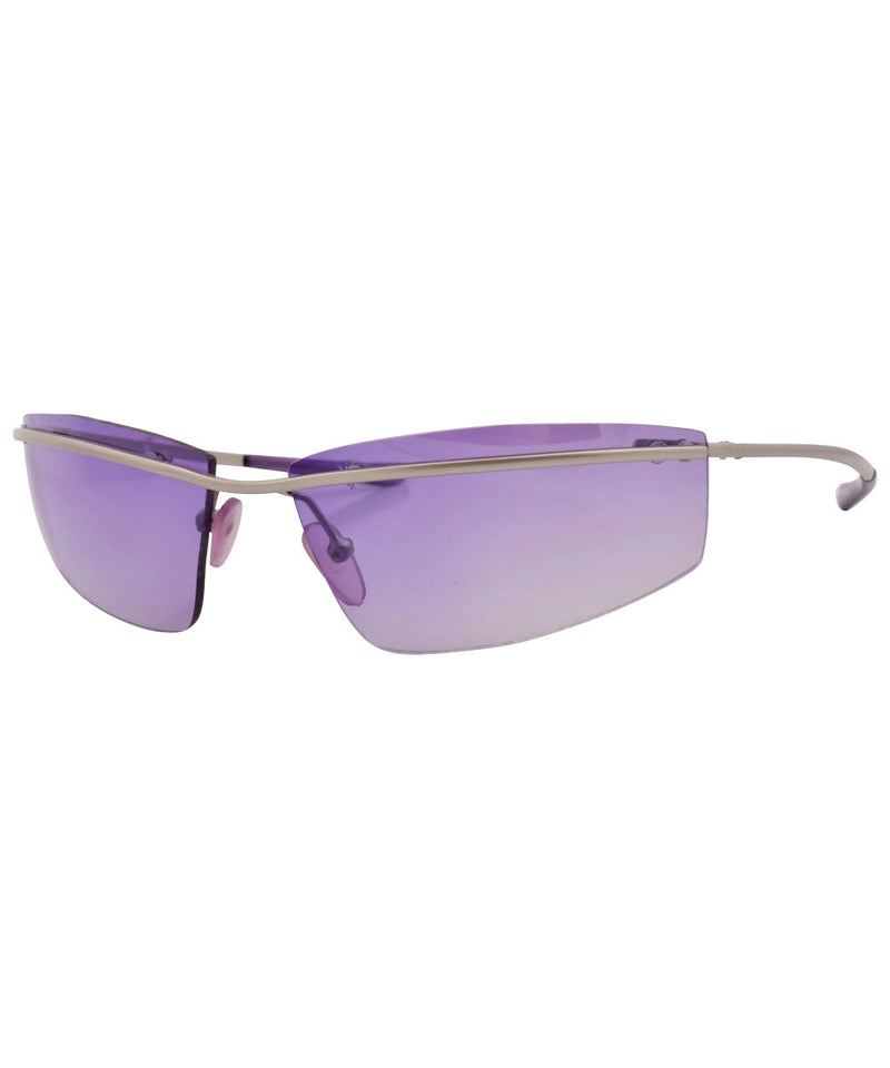 bemuse purple sunglasses