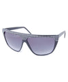 berlin black silver sunglasses