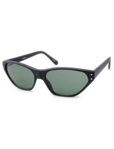 bernadette matte black sunglasses