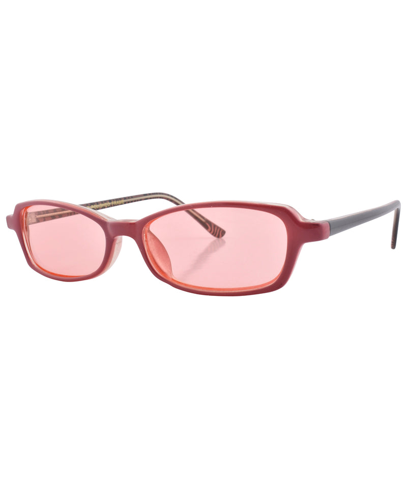 bestie rose pink sunglasses