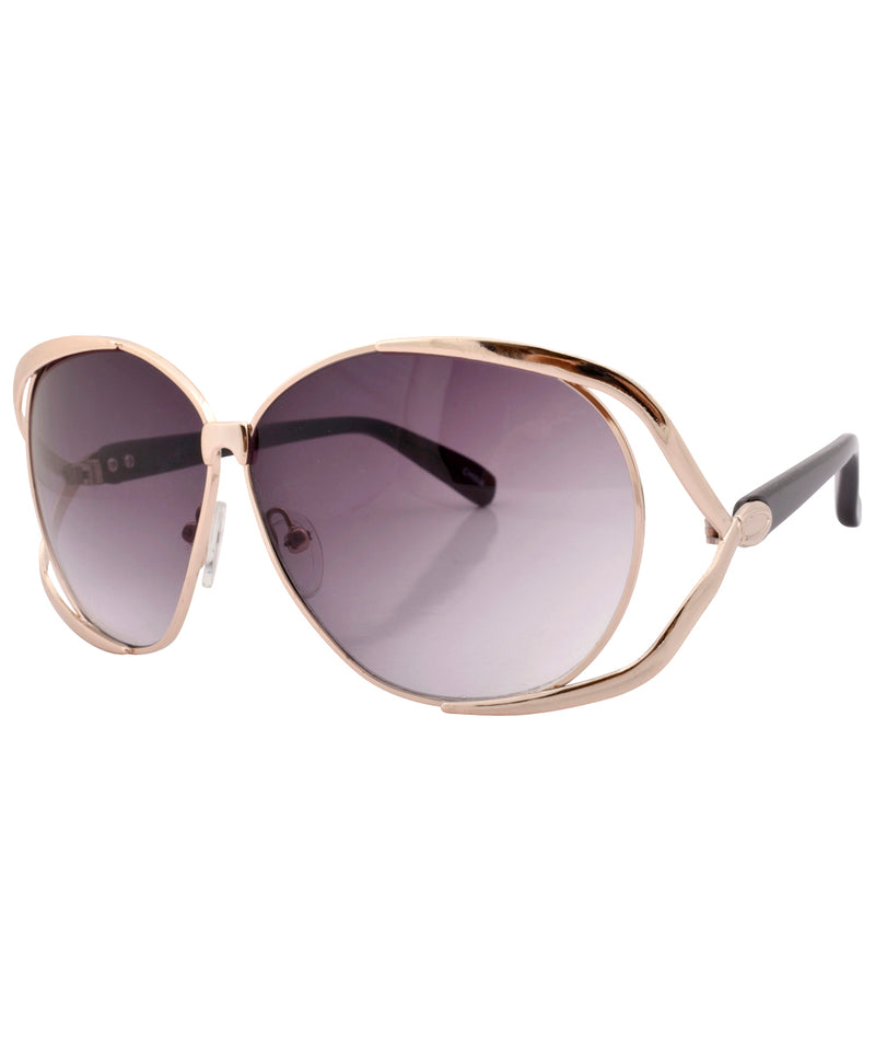 bianca gold smoke sunglasses