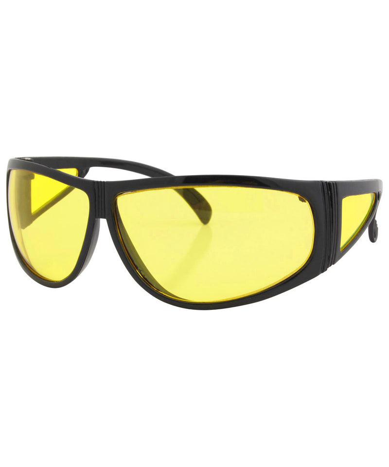 bien black yellow sunglasses