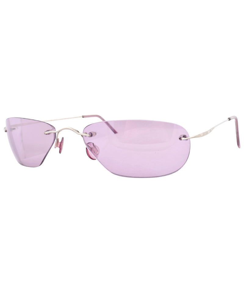 BINK Purple Rimless Sunglasses