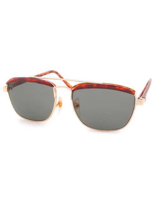 bio tortoise gold sunglasses