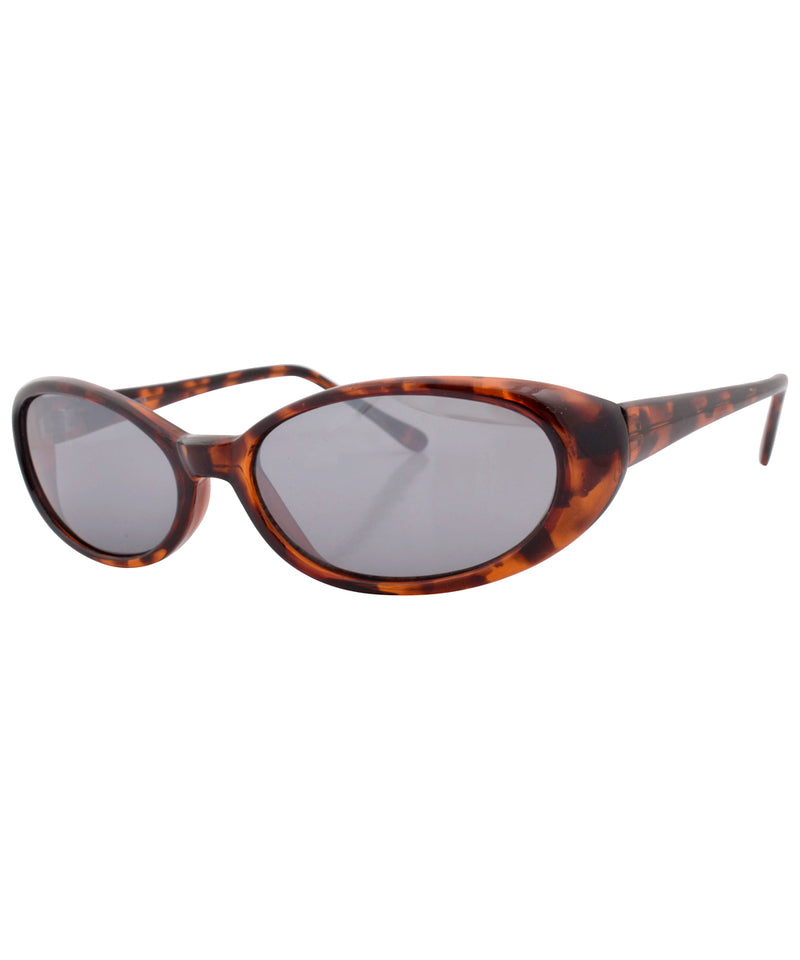 bippy tortoise smoke sunglasses