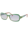 bitsy green sunglasses