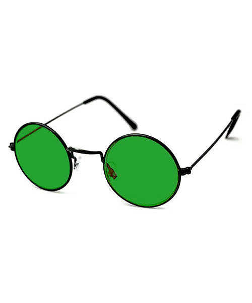 blackerby green black sunglasses