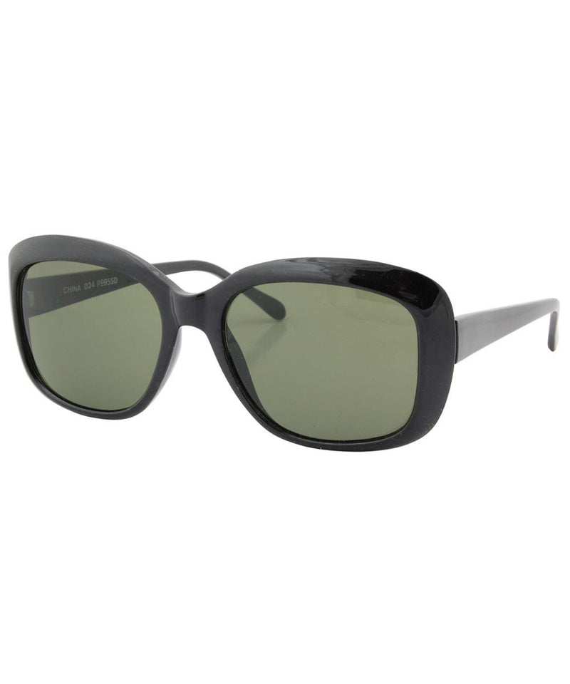 blake black sunglasses