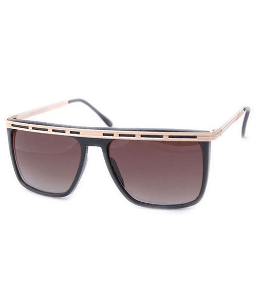 rails black sunglasses