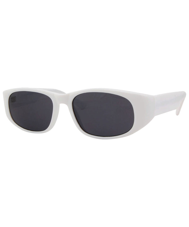 bleach white sunglasses
