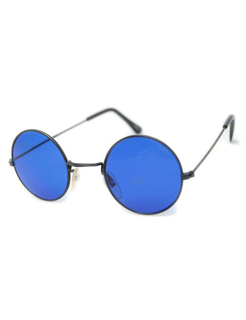 the blues black sunglasses