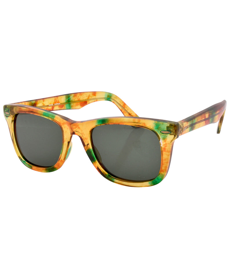 bob yellow green sunglasses