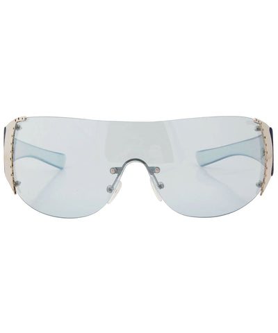 bomb blue sunglasses
