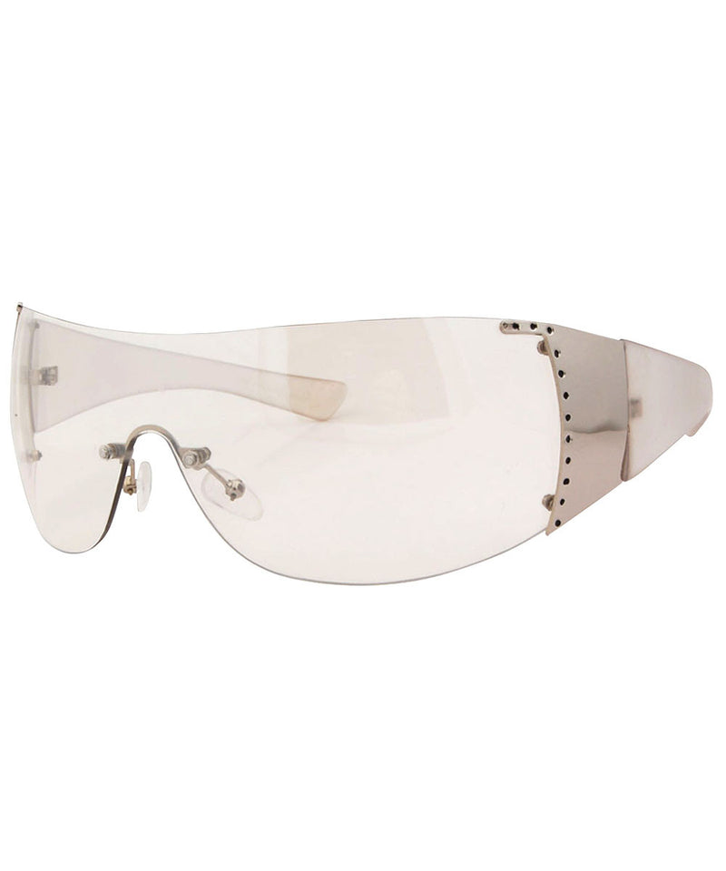 bomb clear sunglasses