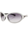 bonbon white sunglasses