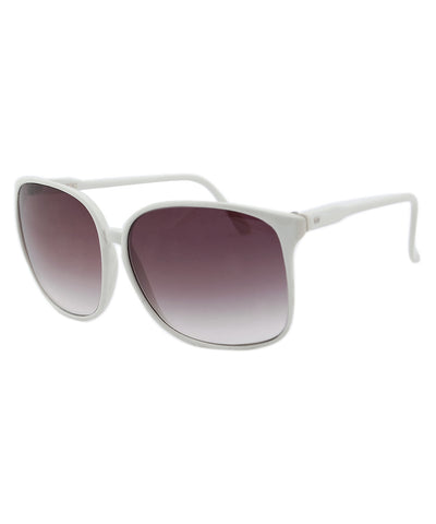 bonnie white sunglasses