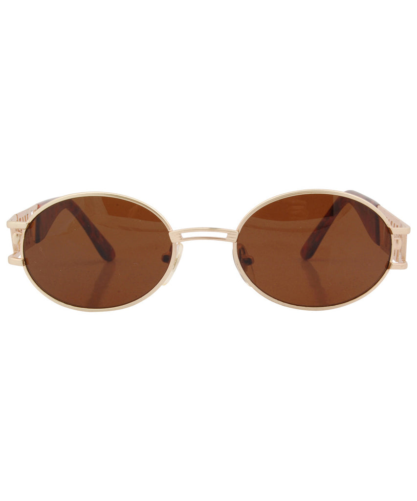booth gold amber sunglasses