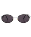 booth silver black sunglasses