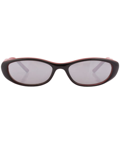 boozie black red sunglasses